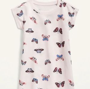 NWT Old Navy Butterfly Nightgown